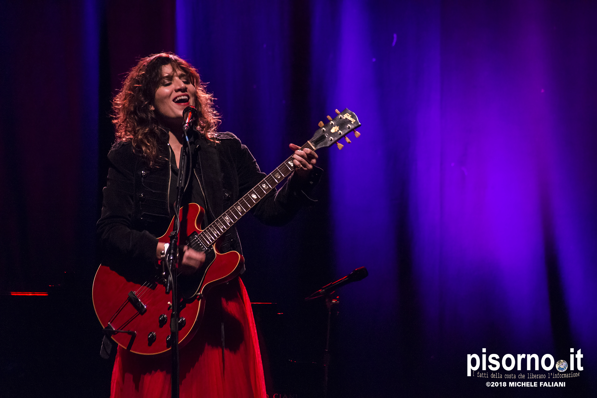 Chiara Civello live @ Teatro Puccini (Firenze, Italy), February 27th 2018