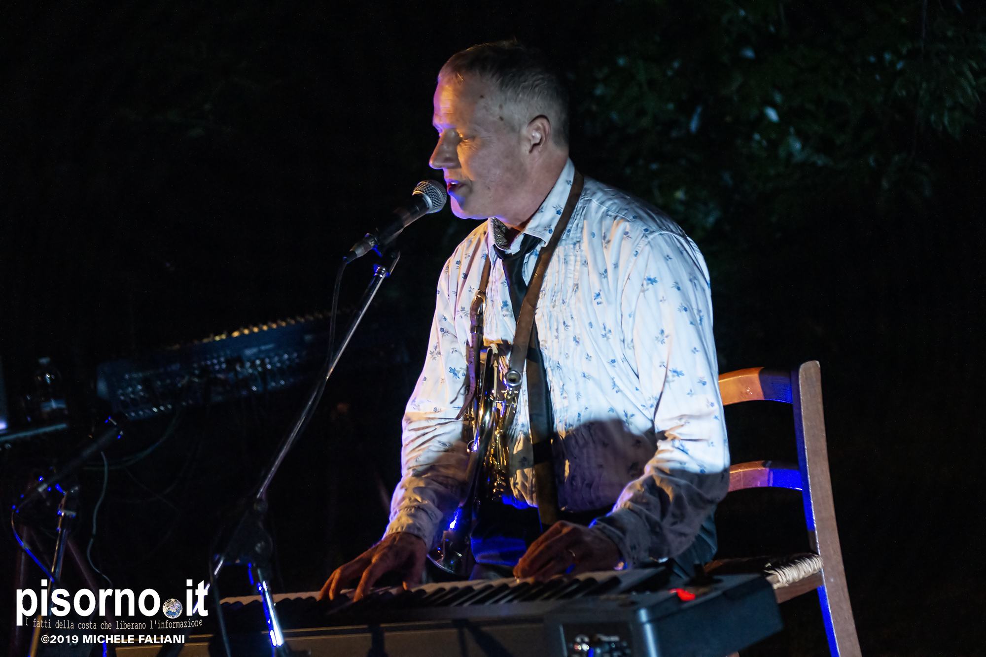 Davey Ray Moor live @ San Salvi (Firenze, 15 Giugno 2019)