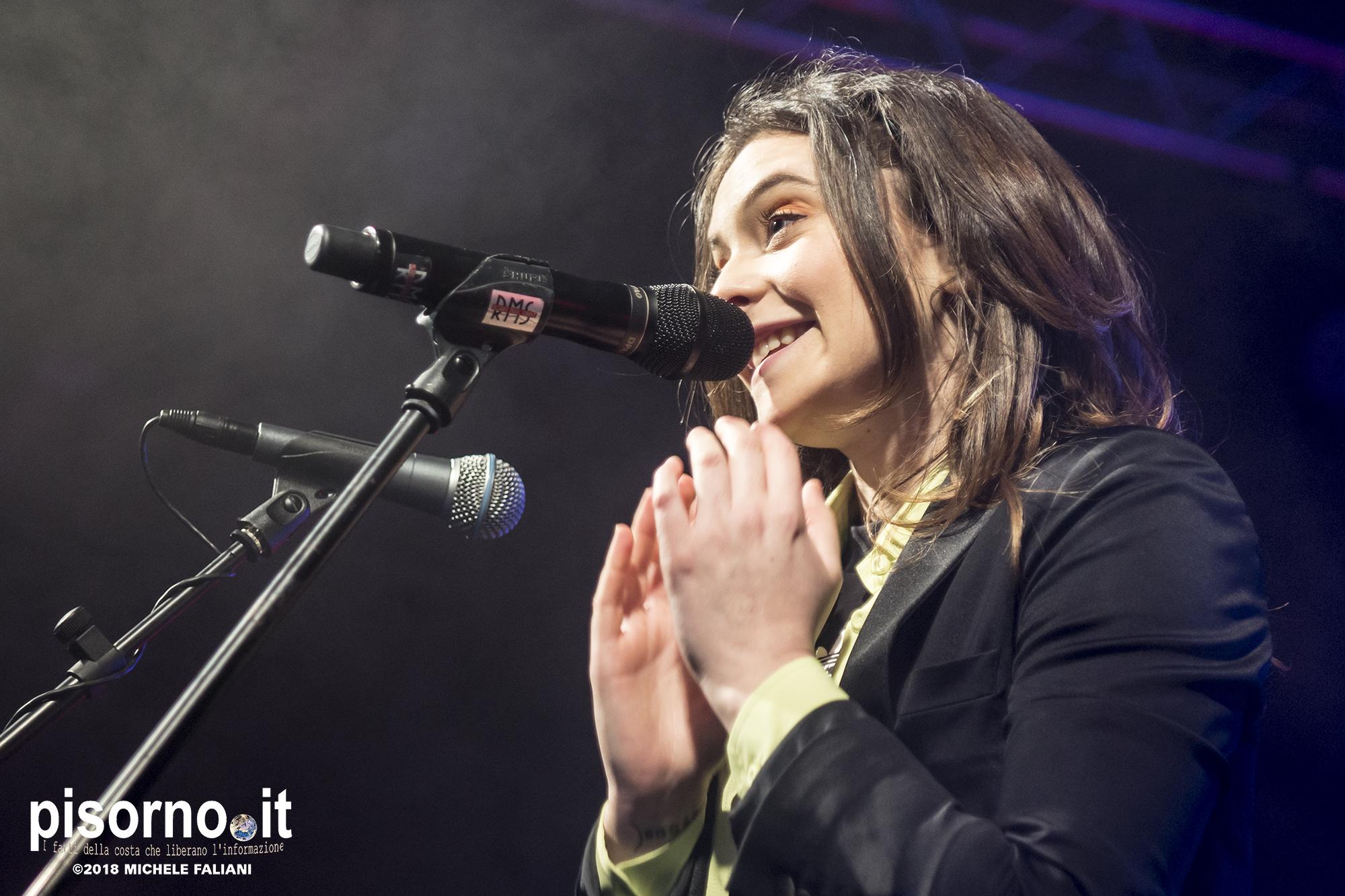 Francesca Michielin @ Viper Theatre (Firenze, Italy), April 15th 2018)
