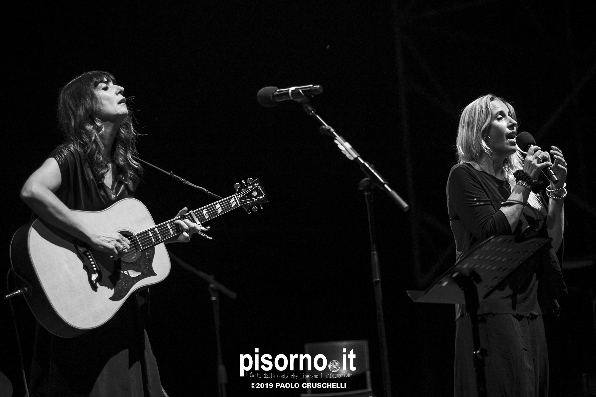 Ginevra Di Marco & Cristina Donà live @ Estate Fiesolana (Teatro Romano di Fiesole, 3 Luglio 2019)