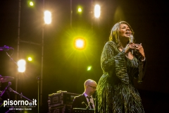 Gloria Gaynor live @ Palapop, Santa Croce sull'Arno, March 7th 2017