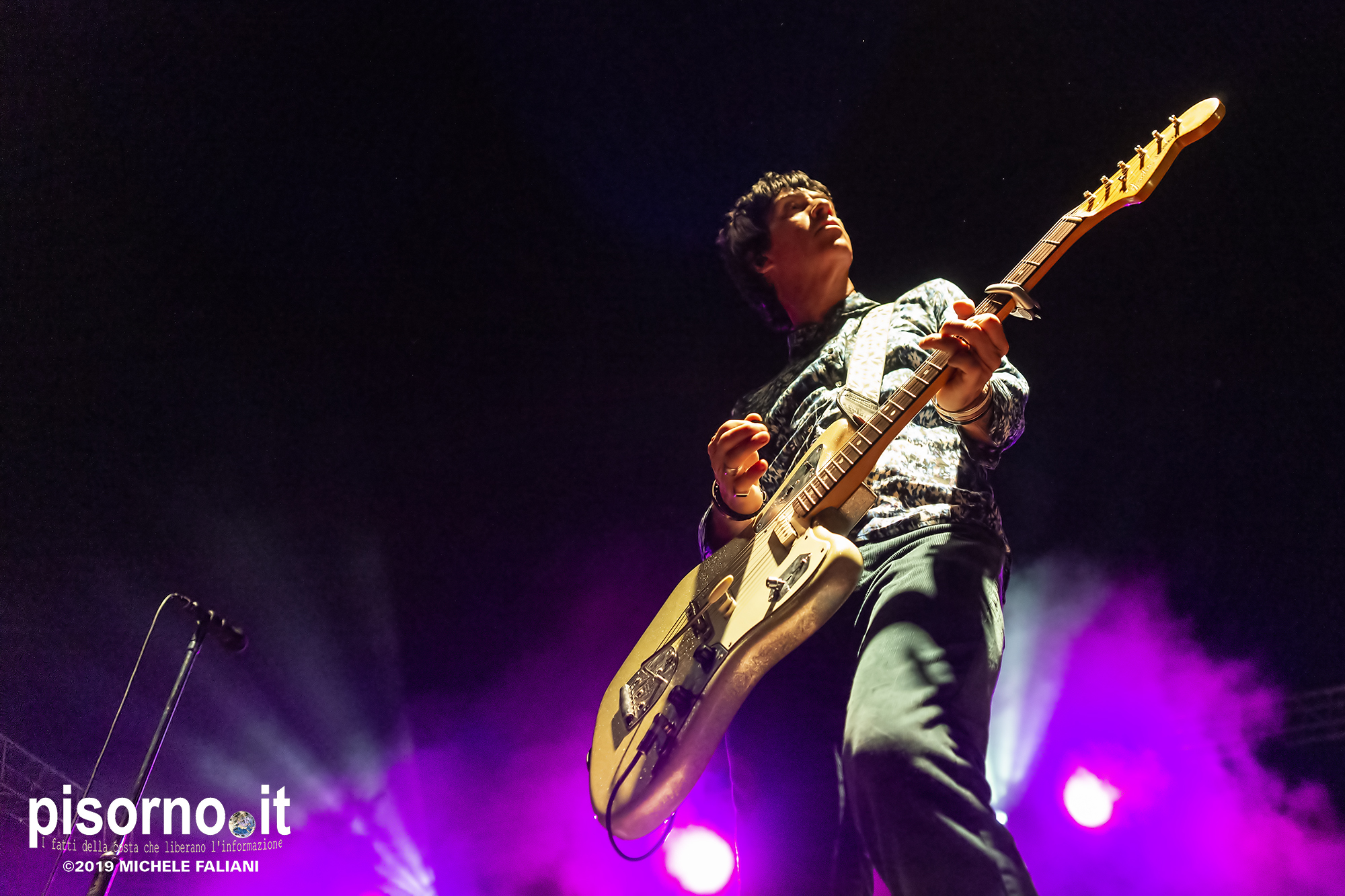 Johnny Marr live @ acieloaperto (Cesena, Italy, June 18th 2019)