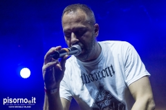Murubutu live @ The Cage Theatre (Livorno, Italy), Oct 20th 2018