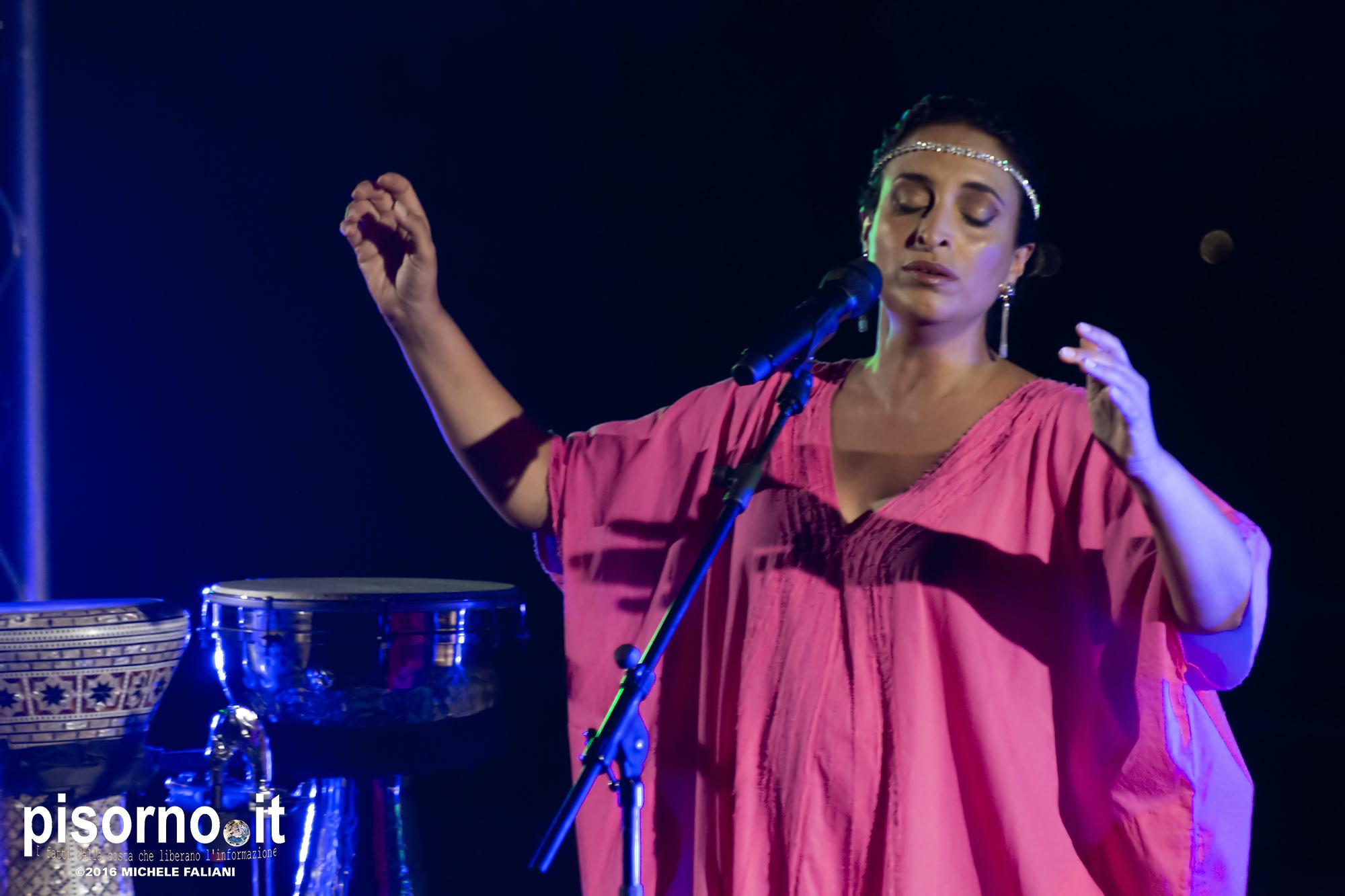 Noa & Gil Dor live @ Forte Belvedere (Firenze, Italy), August 2nd 2018
