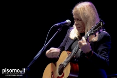 Rickie Lee Jones live @ Teatro del Giglio (Lucca, Italy, November 13th 2019)
