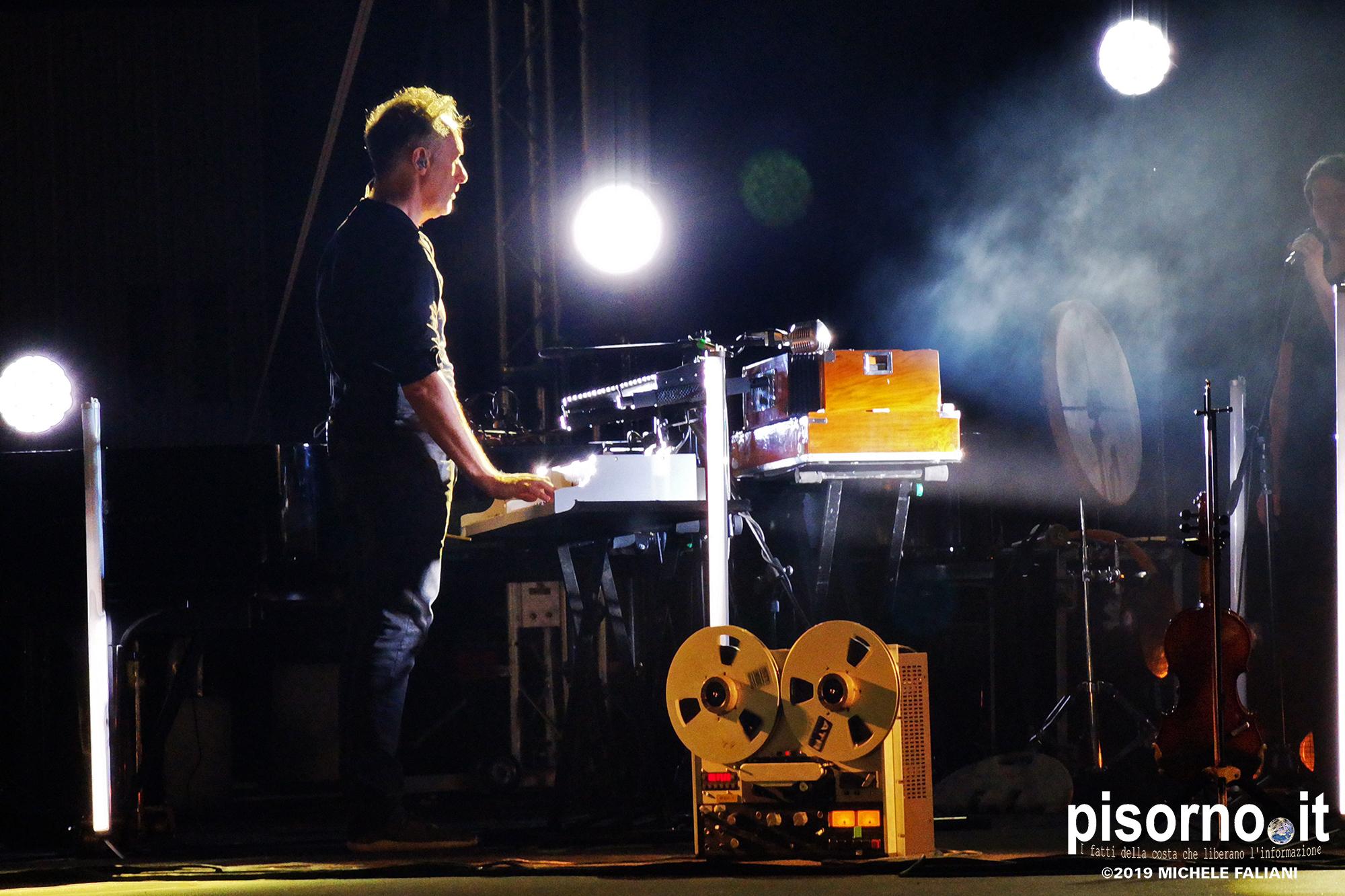 Yann Tiersen live @ Pecci Summer Live (Prato, July 10th 2019)