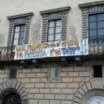 Casa: palazzo occupato a Pisa