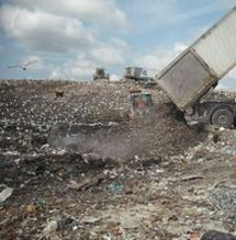 rifiuti discarica scapigliato