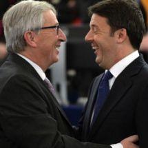 renzi e fondo Juncker