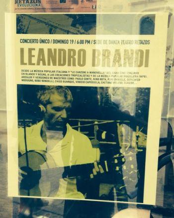 leandro manif teatro