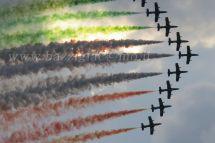 frecce tricolori aereo