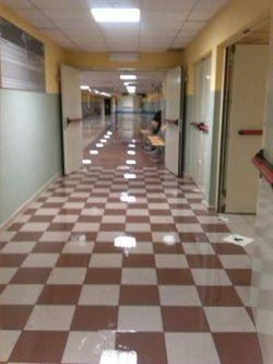 ospedale cisanello allagato