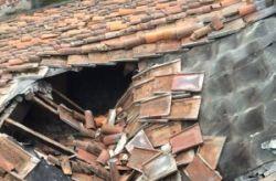 chiesa san Francesco crollo tetto