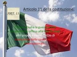 art11 costituzione guerra
