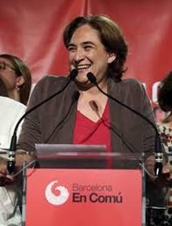 Ada Colau sindaca di Barcellona
