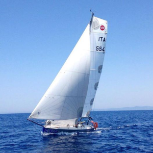 Nella foto l'imbarcazione di Di Giuliomaria