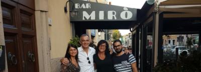 Enrico Rossi e bar Mirò Piombino