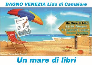 Un mare di libri al bagno venezia di lido di camaiore primo appuntamento gioved 22 giugno - Bagno venezia lido di camaiore ...