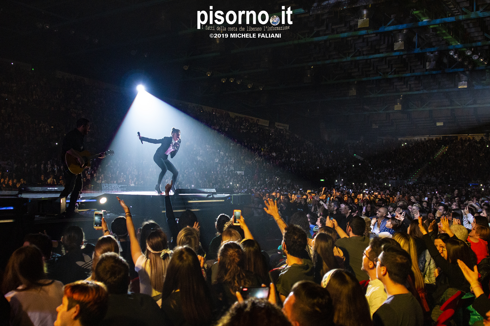 Alessandra Amoroso live @ Nelson Mandela Forum (Firenze, 12 Aprile 2019)