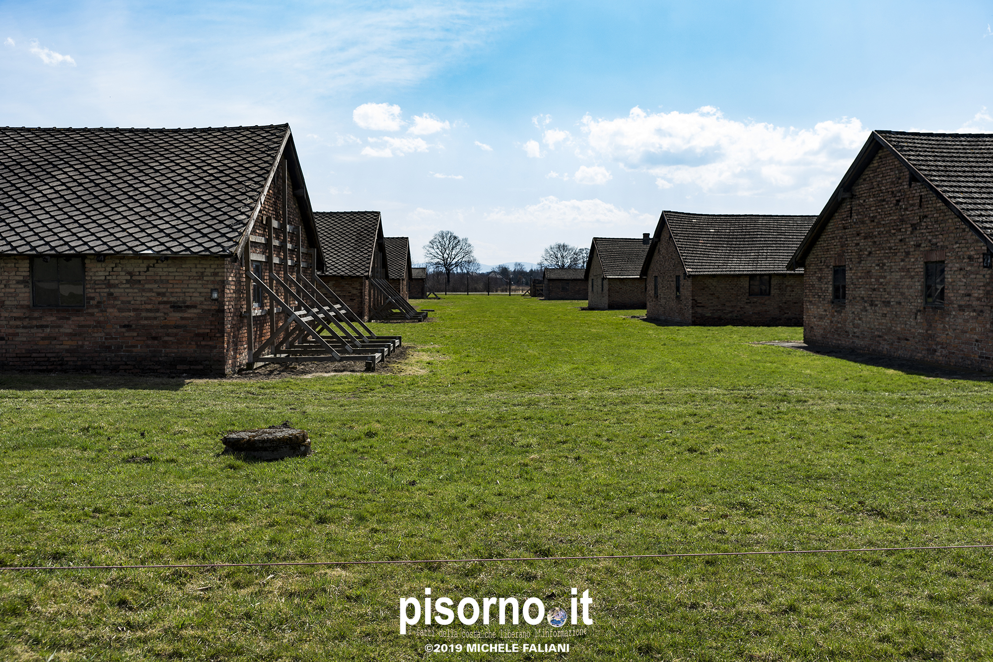 Campo di sterminio di Auschwitz Birkenau