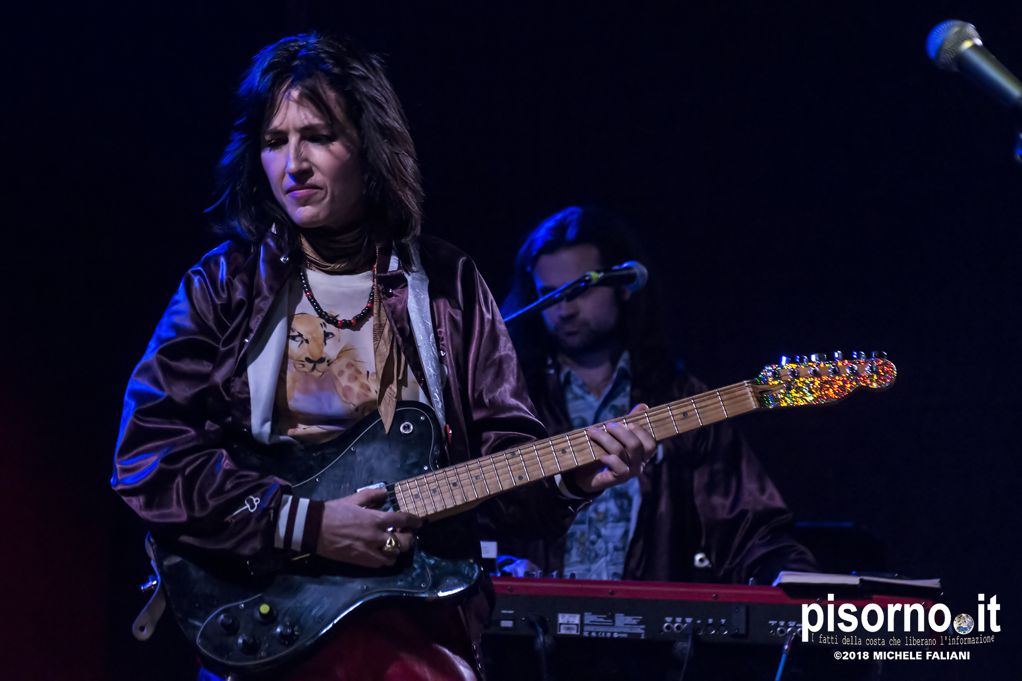 Joan As Police Woman @ Viper (Firenze, Italy), March 25th 2018)