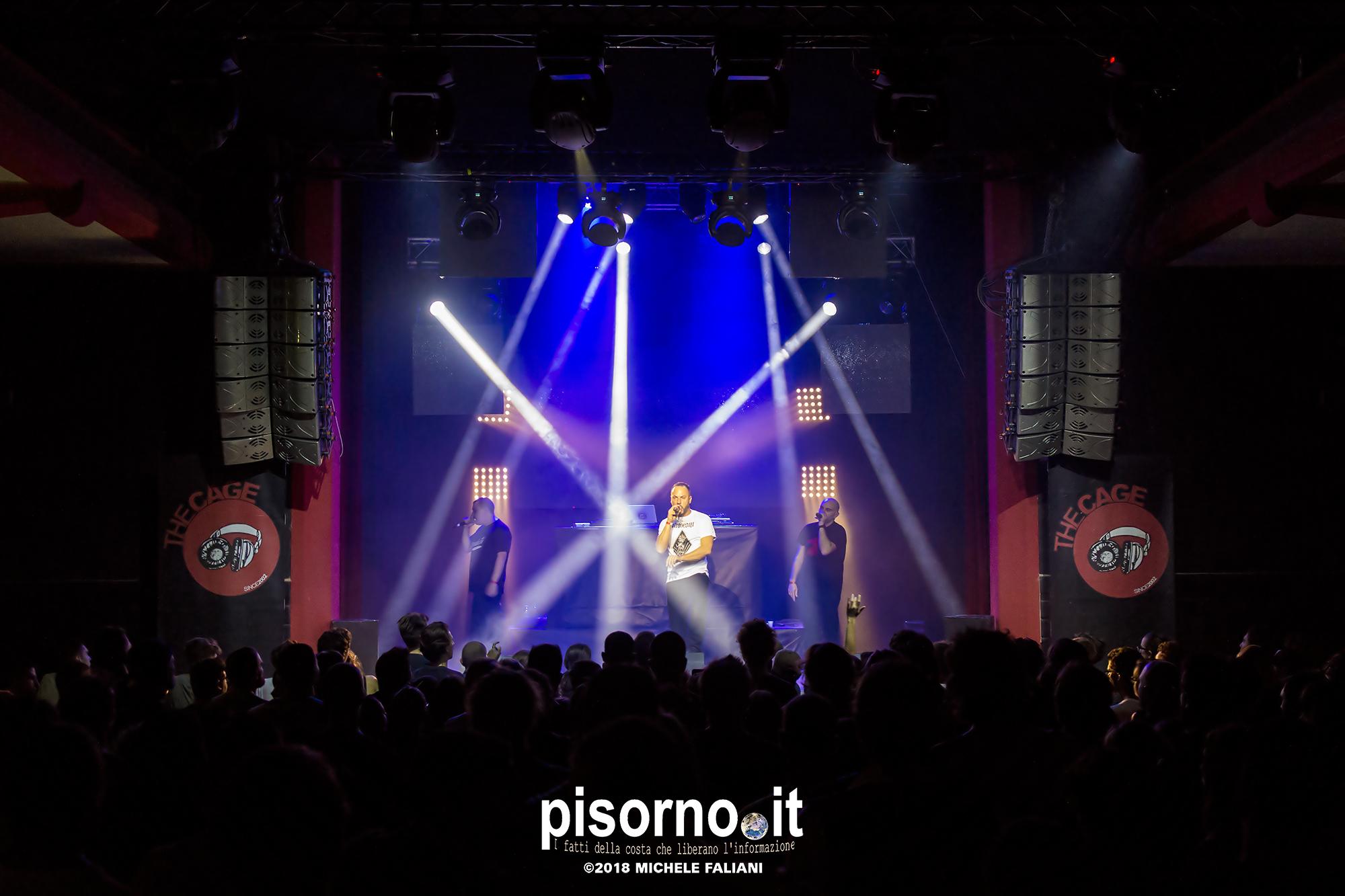 Murubutu live @ The Cage Theatre (Livorno, Italy), Oct 20th 2018