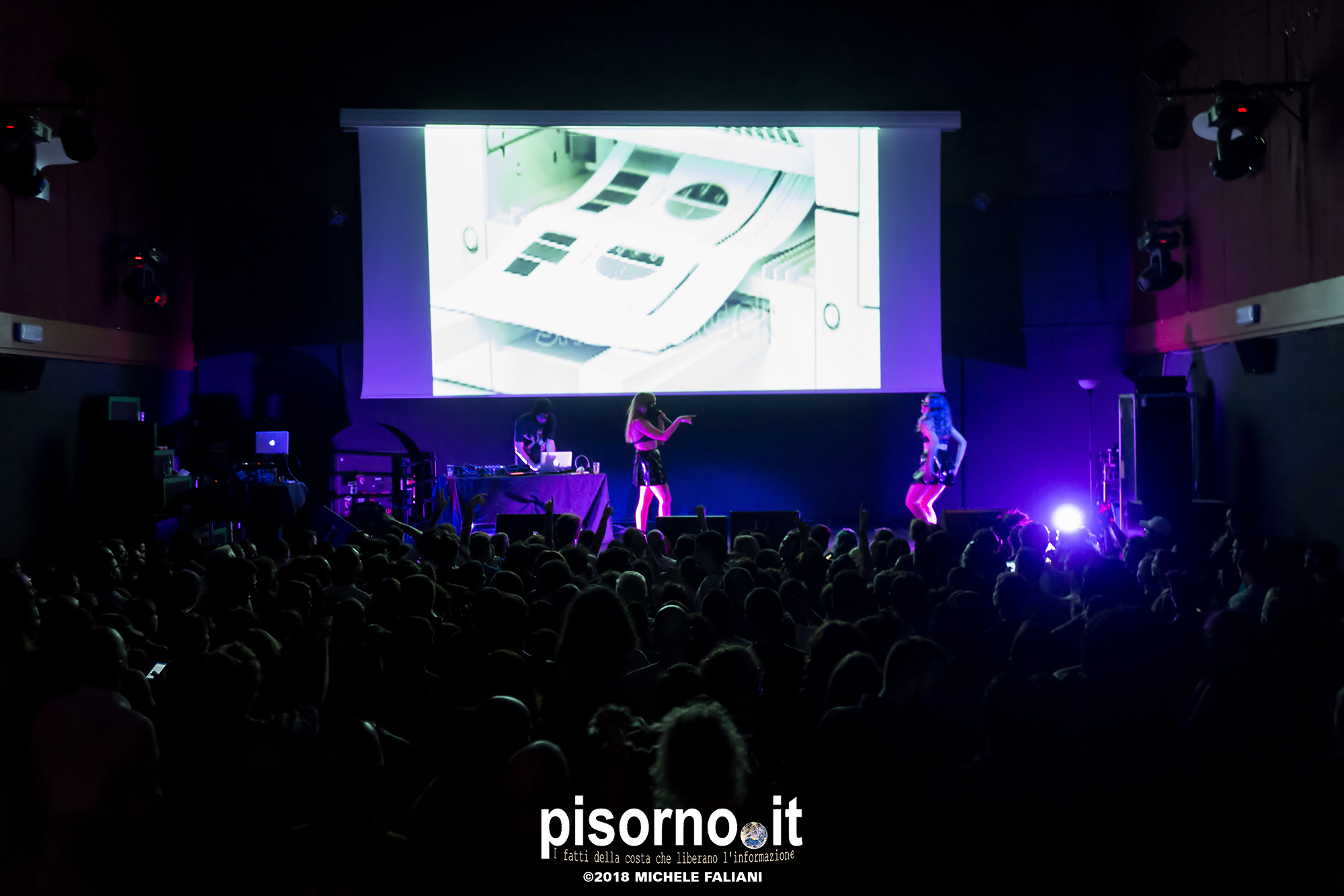 Myss Keta live @ Lumiere (Pisa, Italy), October 5th 2018