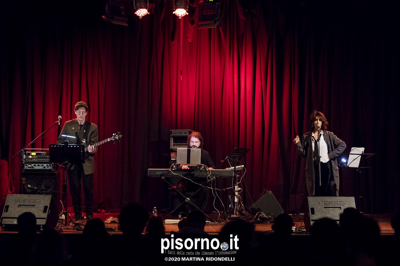 Angela Baraldi, Massimo Zamboni e Cristiano Roversi live @ Lumière (Pisa, 11 Gennaio 2020)