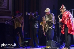 Sun Ra Arkestra @ Teatro Verdi (Pisa, Italy), March 29th 2018